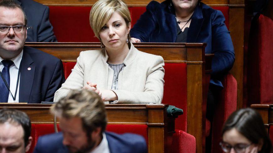La députée LREM Audrey Dufeu-Schubert, le 16 janvier 2018
