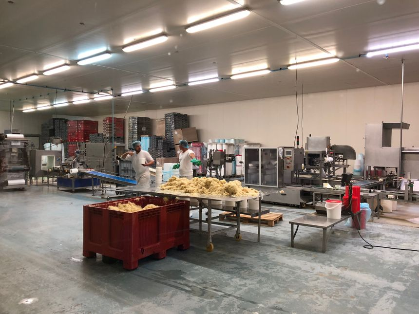 L'atelier de choucroute... A visiter !