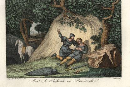 La mort de Roland à Roncevaux