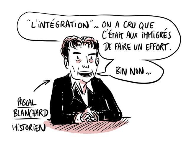 Pascal Blanchard sur l'intégration et les immigrés