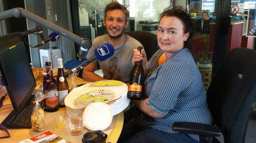 Emilie Jacquot et Julien Dumont sur la route des fromages de Savoie