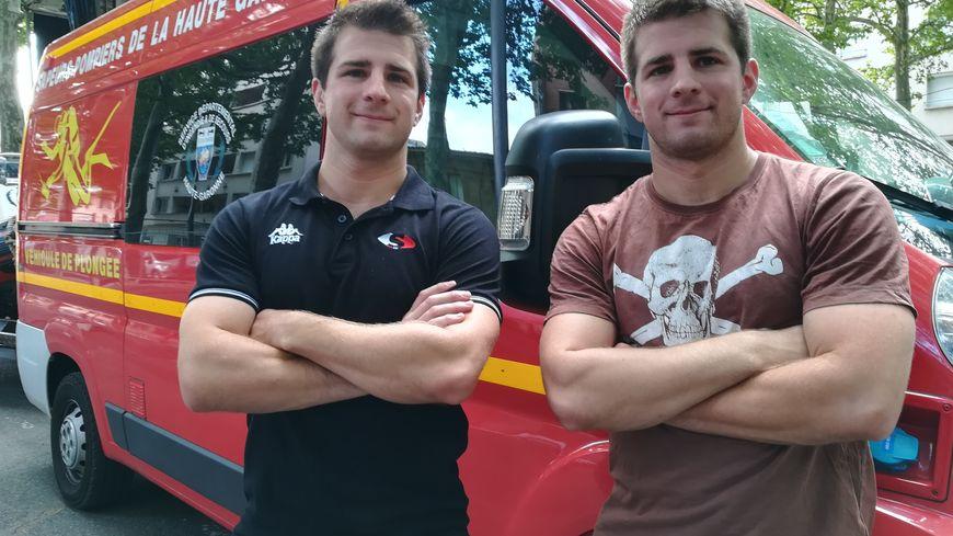 Antoine à gauche (Ramonville), Mathieu à droite (Toulouse-Lougnon), auront 26 ans en septembre.