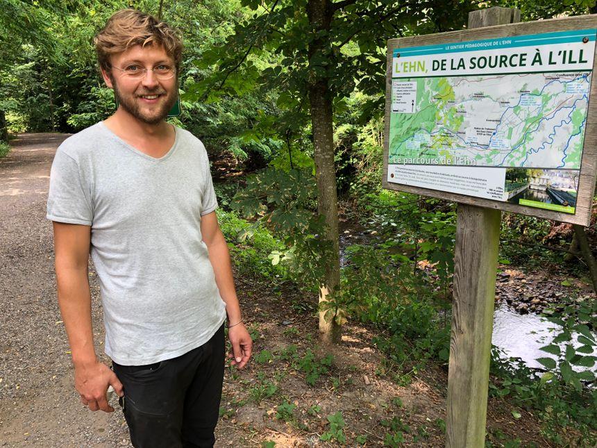 Jean-François Staerck, technicien rivière