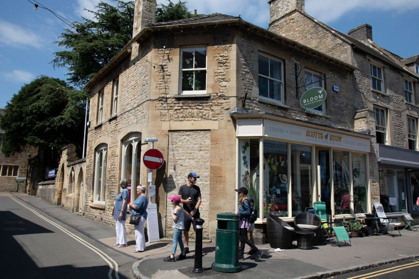 Stow-on-the-Wold is a small market town and civil parish in Gloucestershire, England.