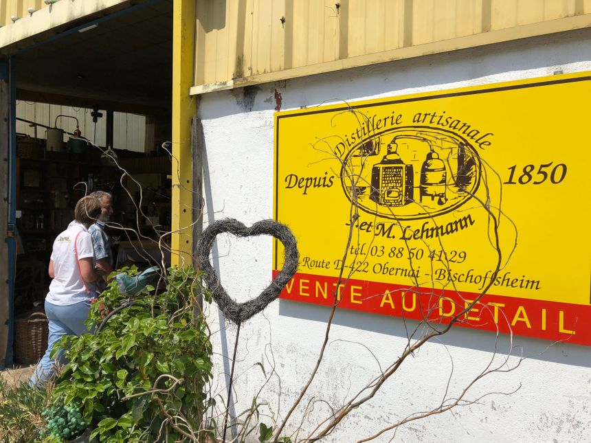 Bienvenue à la distillerie artisanale !