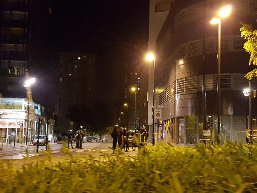 Le calme est revenu en fin de nuit dans le quartier Malakoff