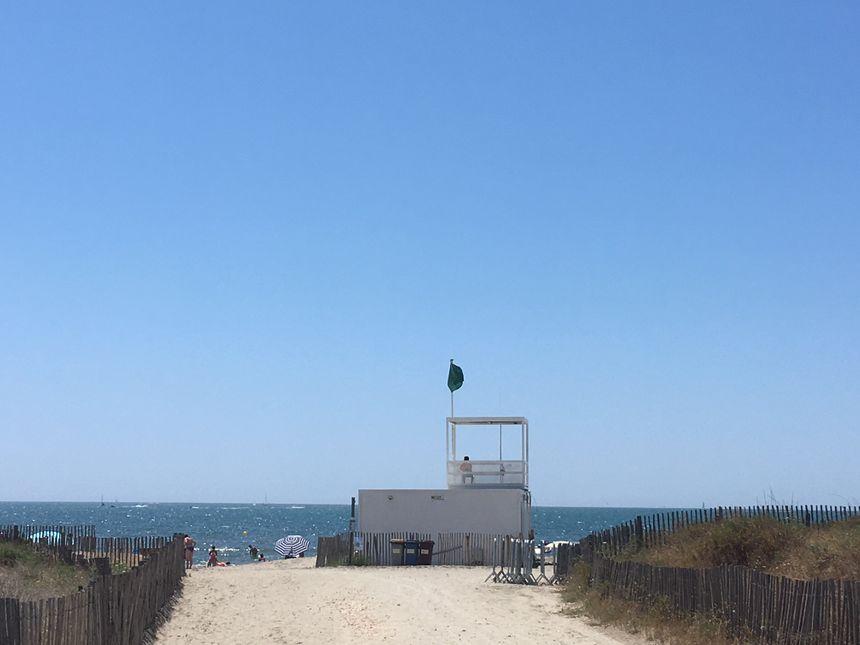 Le poste de secours du Boucanet, accès plage numéro 12