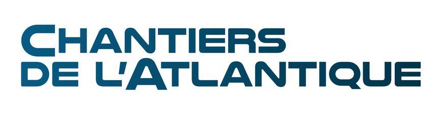 Le nouveau logo des Chantiers de l'Atlantique