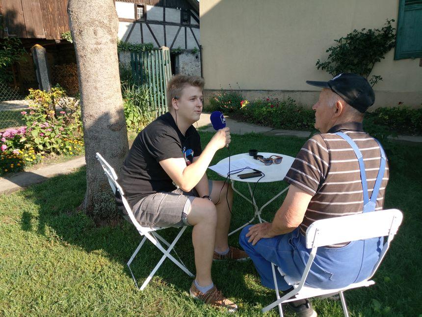 Clément Dorffer interviewe Léon Walter, du moulin Walter