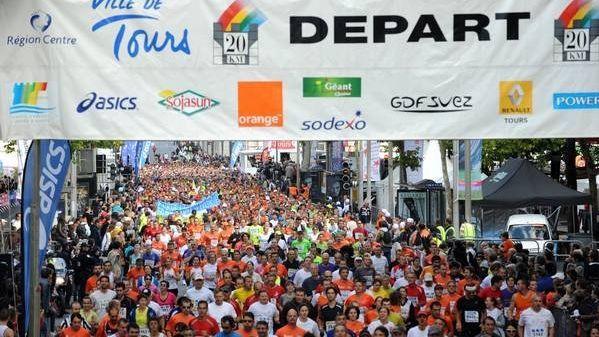 Plus de 10.000 participants devraient encore être au départ des 10 et 20 km de Tours