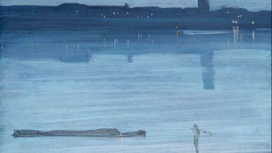 """James Whistler : """" Nocturne"""""""