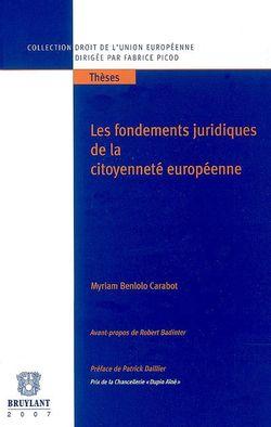 Les fondements juridiques de la citoyenneté européenne