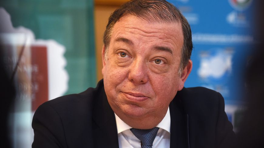 Christian Hutin, le président de la commission d'enquête parlementaire sur l'affaire Lactalis.