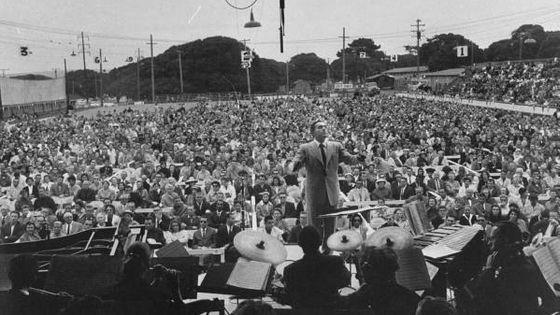 Le premier Monterey Jazz Festival