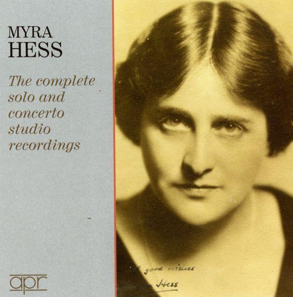 CD Schumann / Myra Hess