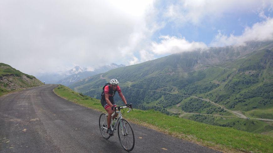 Sur les pentes du col du Portet, au-dessus de Saint-Lary-Soulan (Hautes-Pyrénées)