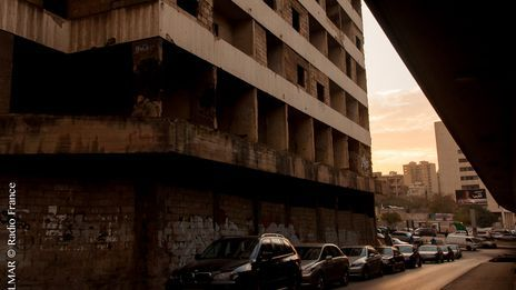 Vue de Beyrouth