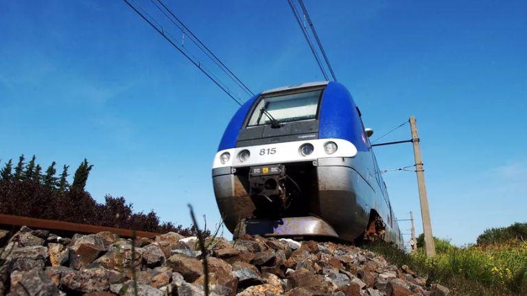 Le TER a été immobilisé plus de deux heures à hauteur de Saint-André-le-Gaz. Photo d'illustration.