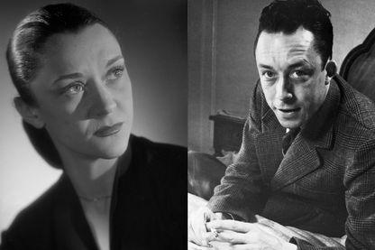 Maria Casarès et Albert Camus