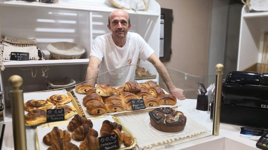Frédéric Roy se bat pour la création d'un label pour les croissants fabriqués artisanalement