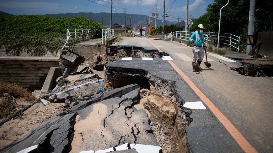 Les pluies diluviennes ont provoqué des dégâts impressionnants.