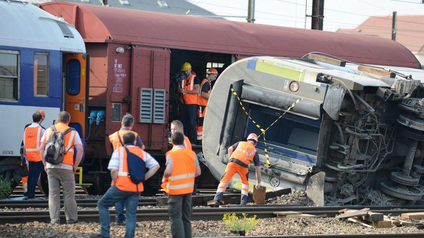 Le déraillement du train Paris-Limoges en 2013 à Brétigny-sur-Orge avait fait sept morts et de nombreux blessés