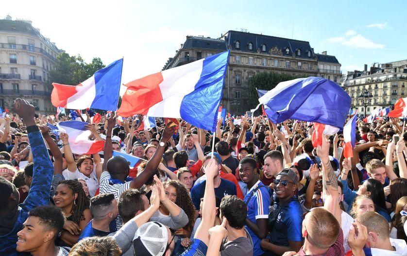 19,1 millions de téléspectateurs ont regardé, mardi soir sur TF1, la demi-finale de Coupe du monde de football France-Belgique