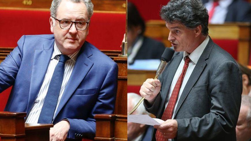 Richard Ferrand, Paul Molac, même parti mais deux visions différentes de la politique du gouvernement.