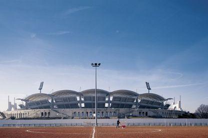 Le stade de Gerland à Lyon