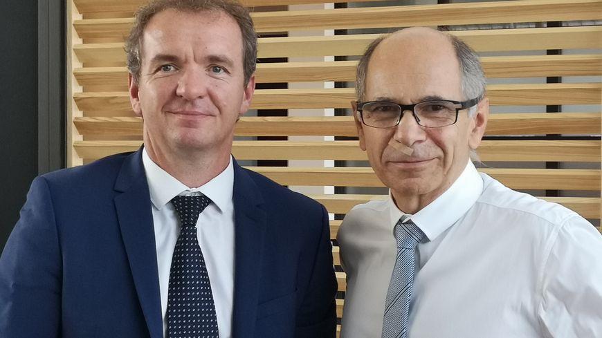 Maxime Toubard et Jean-marie Barillère, les co-présidents du CIVC