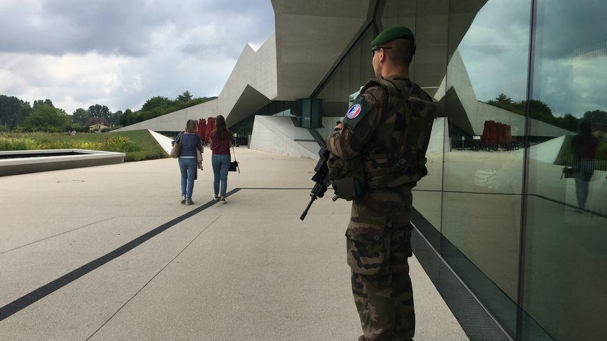 Les forces sentinelles vont assurer la sécurité du site Lascaux à Montignac.