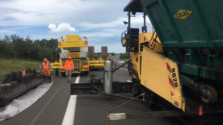 Des voies de transport doux seront prévues dans le cadre de l'élargissement de l'A75