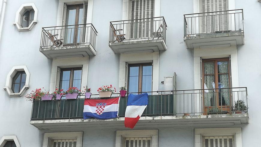 Le balcon de la finale à Chambéry