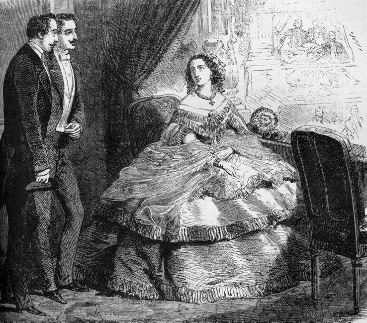 Albert de Morcerf et Franz d'Epinay à l'Opéra