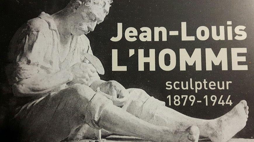 En couverture du livre de Raphaël Mérindol : L'Encapaïre, une statue en plâtre montrant un marteleur de faux