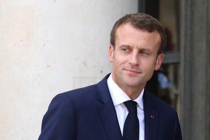 Emmanuel Macron le 6 juillet 2018 à Paris