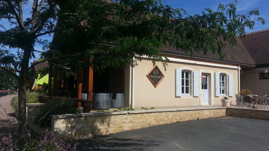 L'îlot de la Gaudine, le restaurant de Drevant, adapte déjà ses services pour répondre aux attentes des cyclistes. - Radio France