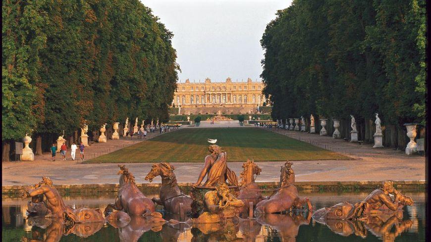 Le château de Versailles.