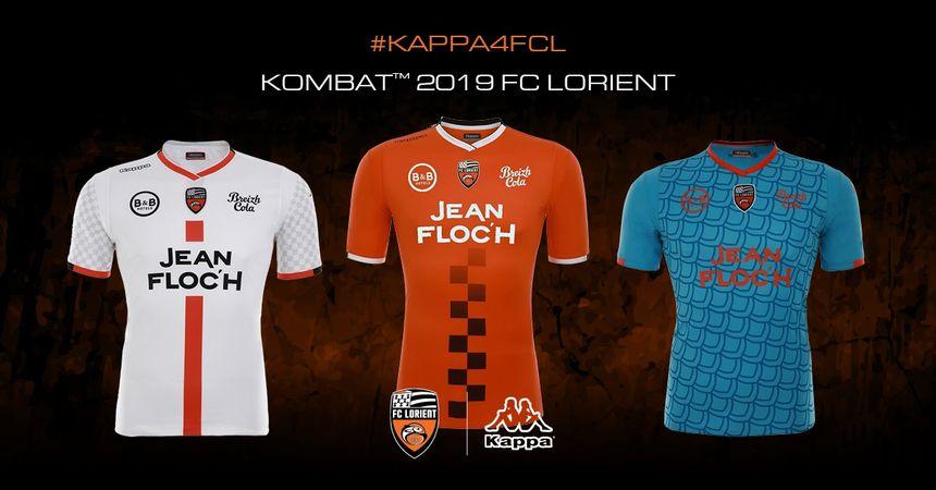 Les maillots é et 3 de la saison 2018-2019