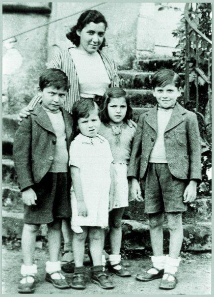 La famille Muller quelques mois avant leur déportation lors de la rafle du Vel' d'Hiv'