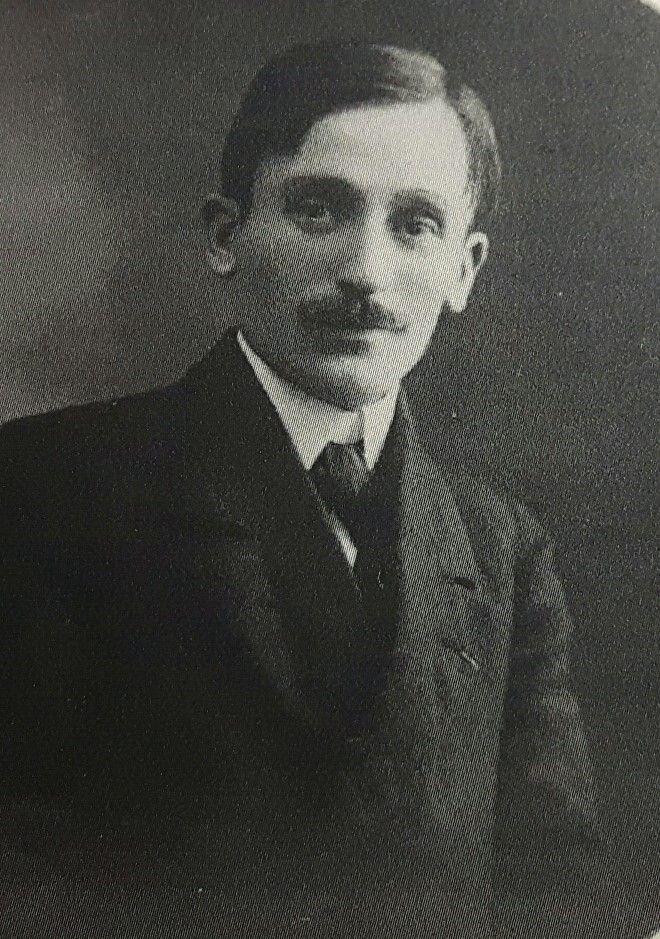 Jean-Louis L'Homme, jeune mais déjà très engagé politiquement...