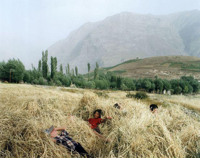 Dans une île au milieu du Tadjikistan, 1995.
