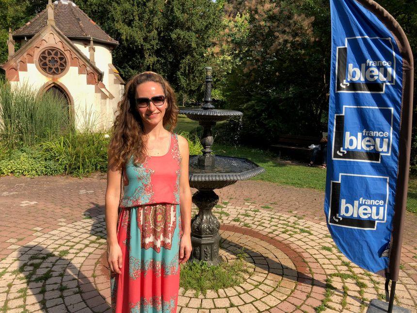 Geneviève Laurenceau, organisatrice du festival de musique d'Obernai