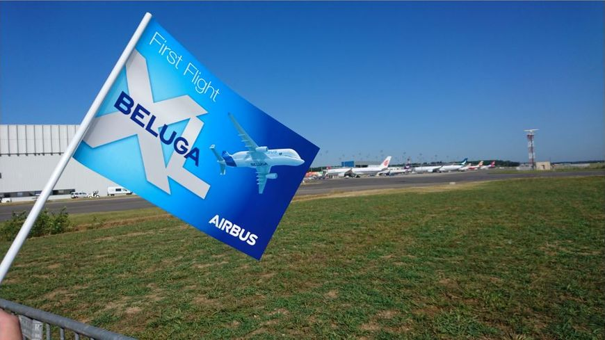 Le nouvel avion cargo d'Airbus a décollé ce jeudi matin sans problème à 10h30