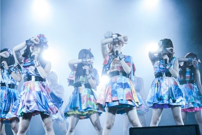 Cheeky Parade à Japan Expo en 2016