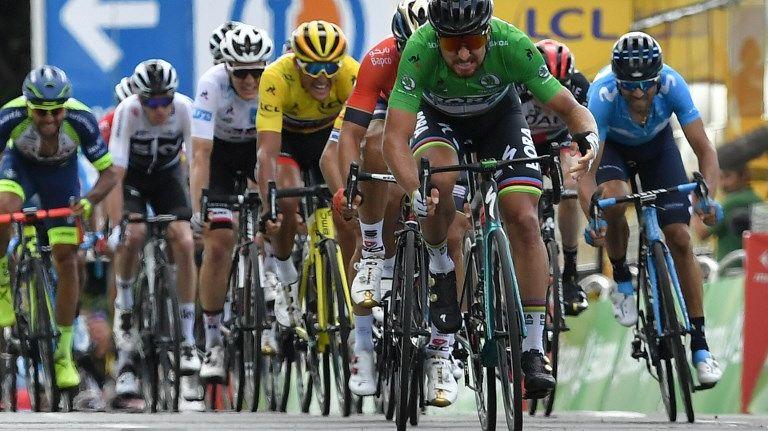 Peter Sagan, à nouveau vainqueur d'étape