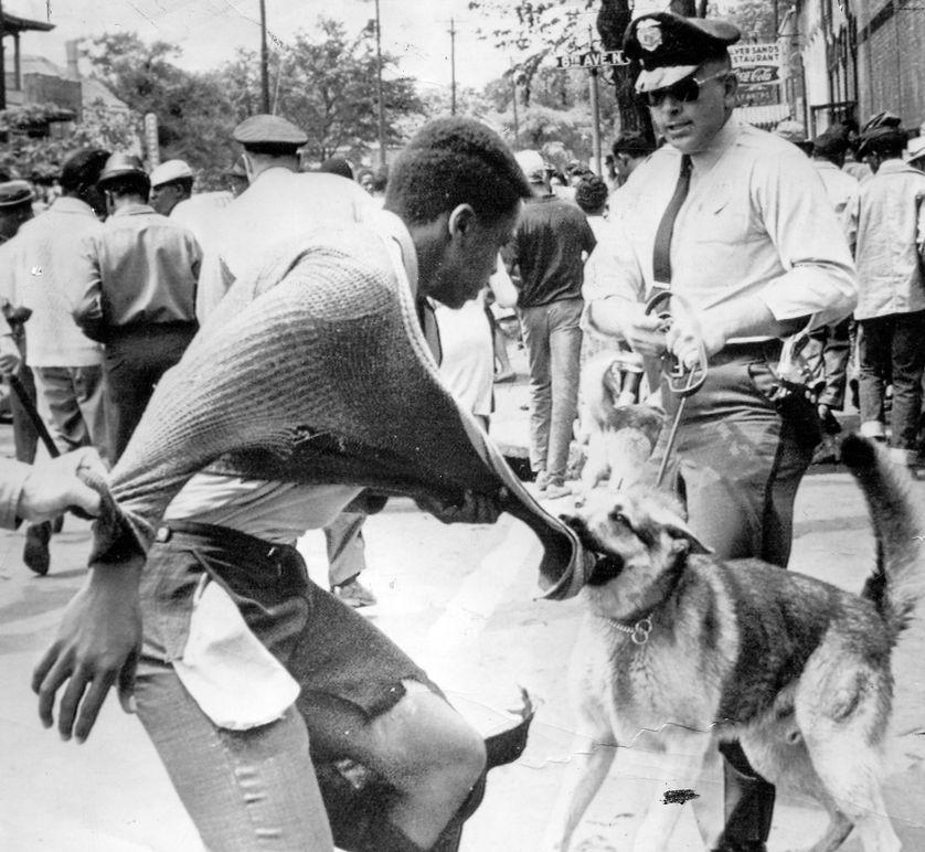 Manifestation du 4 mai 1963 à Birmingham (Alabama)