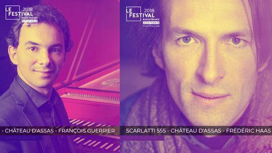 concerts François Guerrier et Frédéric Haas au Château d'Assas
