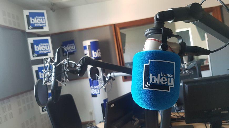 Les studios de France Bleu Périgord.