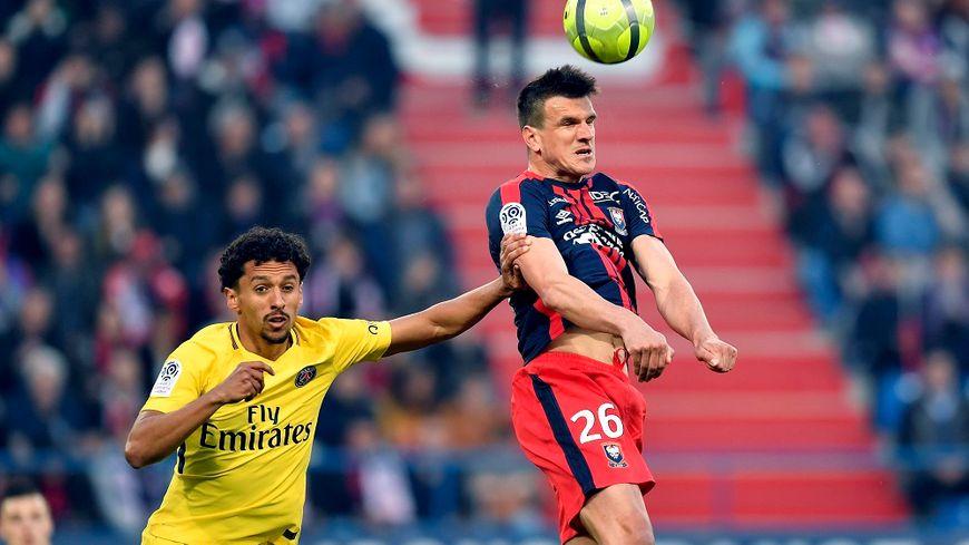 Ivan Santini a inscrit 27 buts en deux saisons au Stade Malherbe de Caen.